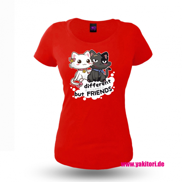 Different but Friends Damenshirt