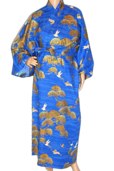 XXL Fashion-Yukata - Crane