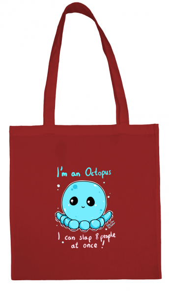 I'm an octopus - Baumwollshopper