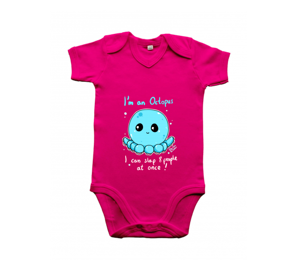 Baby Body pink octopus