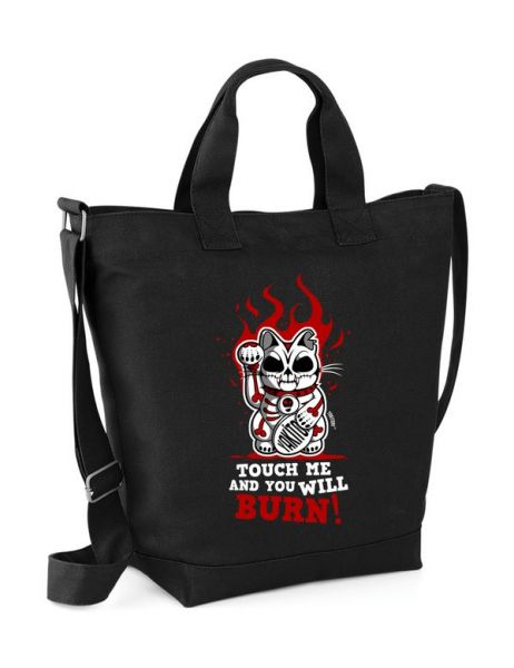 Touch me and you will burn - Shopperbag