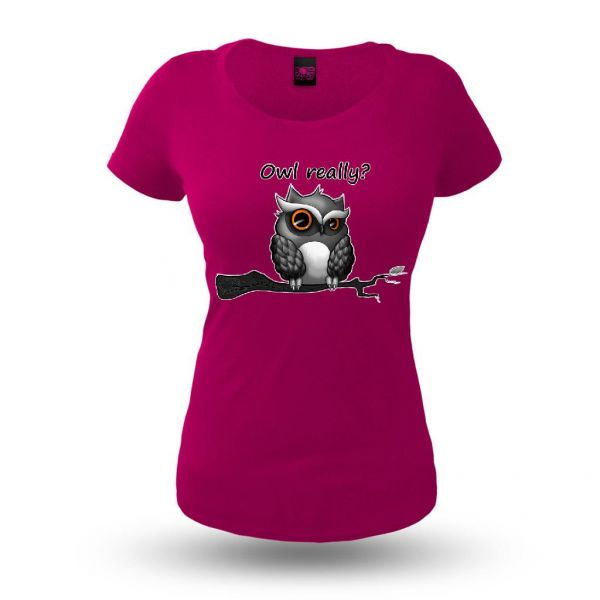 Owl Really - Damen T-Shirt